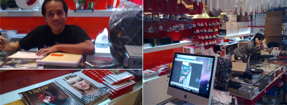 Canon/Fotofile at MBK Center in Bangkok