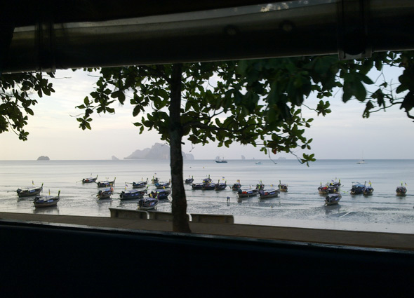 Ao Nang beach morning