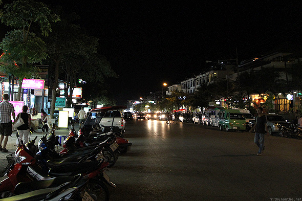 Ao Nang at night