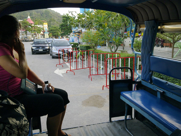 Ao Nang to Krabi taxi ride