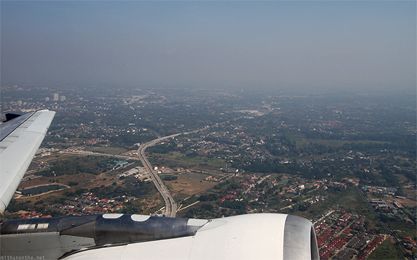 Chiang Mai from sky