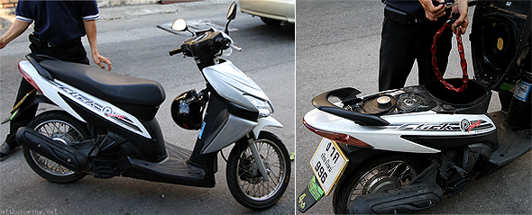 Honda Click for rent in Chiang Mai