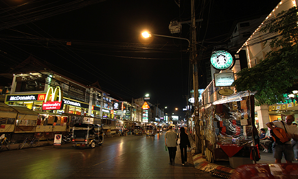 Changklan Road, Chiang Mai