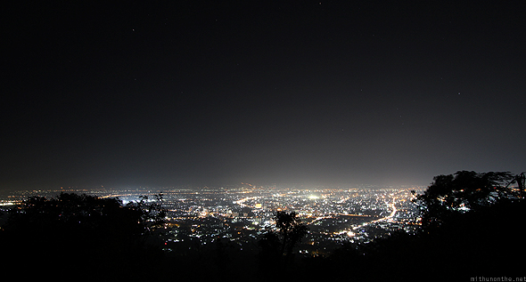 Chiang Mai city at night