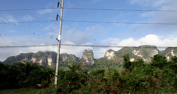 Krabi to Phuket bus ride