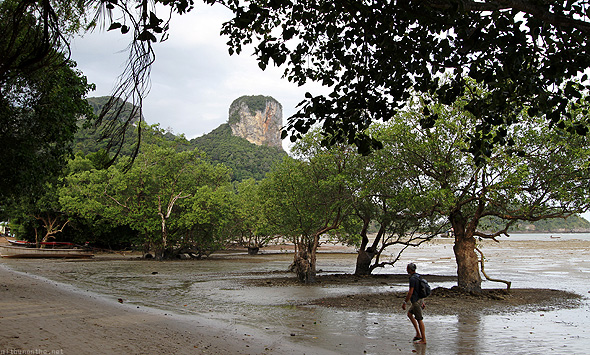 Railay East beach