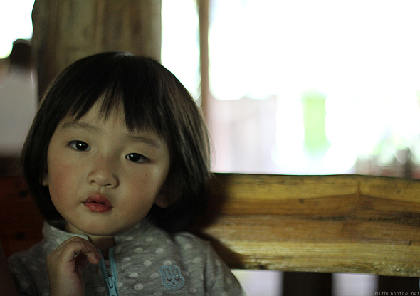 Taiwanese girl, Maesa elephant camp