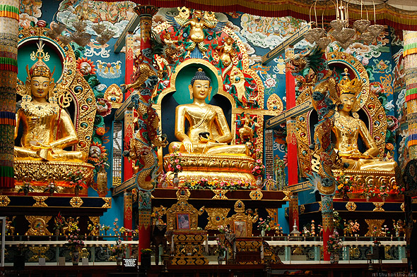 Bylakuppe Golden Temple Buddha