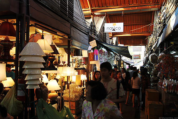 Chatuchak weekend market lamps