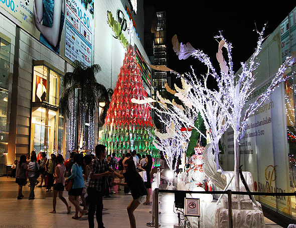 Christmas tree Siam Paragon