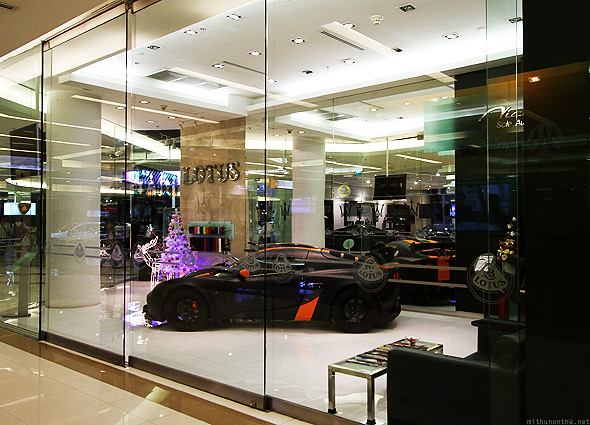 Lotus showroom Siam Paragon