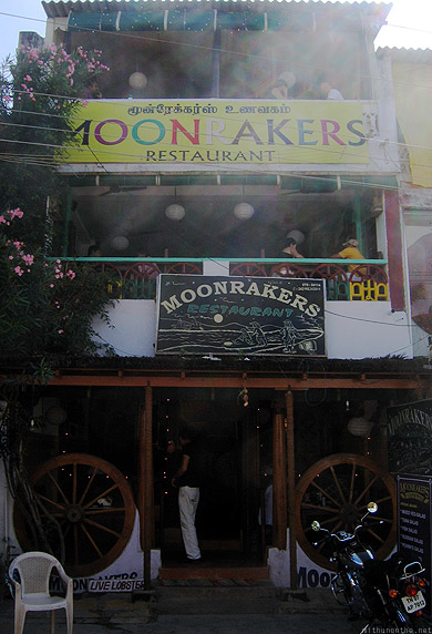 Mamallapuram Moonrakers restaurant