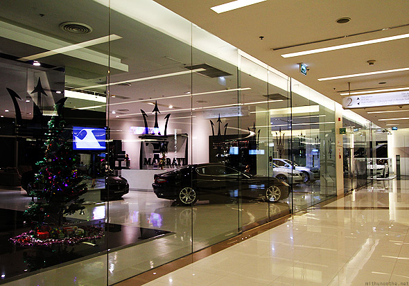 Maserati showroom at Siam Paragon