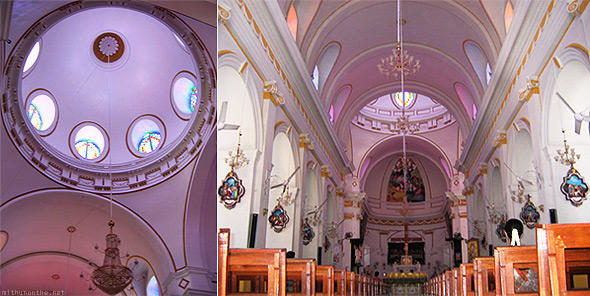 Pondicherry Eglise de Notre Dame de la Conception Immaculee (Church of Our Lady of the Immaculate Conception) interiors