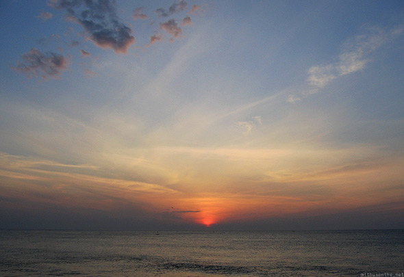 Pondicherry early sunrise
