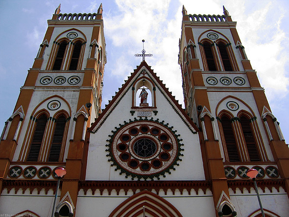 Pondicherry Sacred Heart church