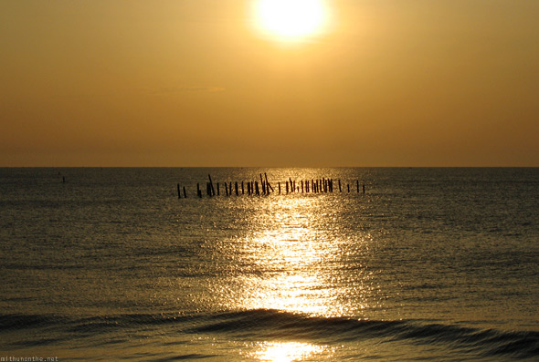 Pondicherry sunrise