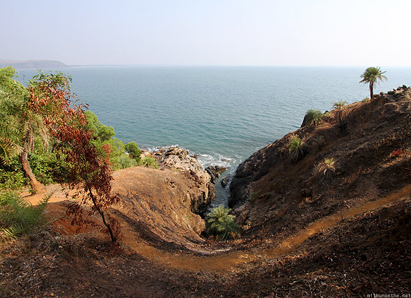 Gokarna Om to Half-Moon beach