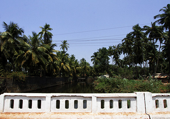 Gokarna town bridge