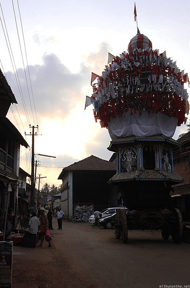 Gokarna town float pandal