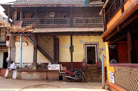 Gokarna town temple old houses
