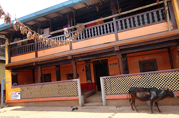 Gokarna town old house
