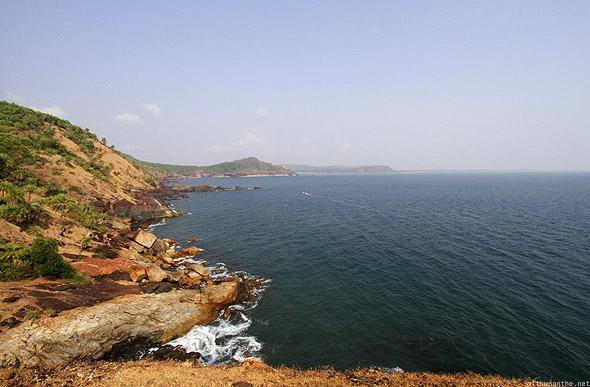 Gokarna view Arabian sea