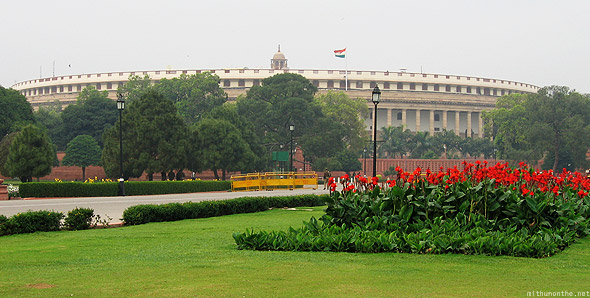 Indian Parliament house New Delhi
