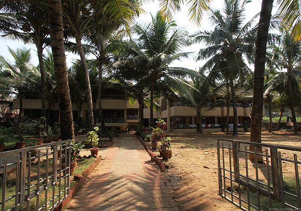 Kudle beach Gokarna International hotel
