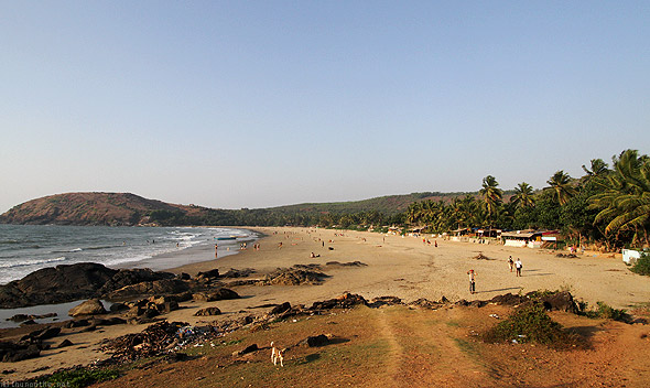 Kudle beach Gokarna sunset