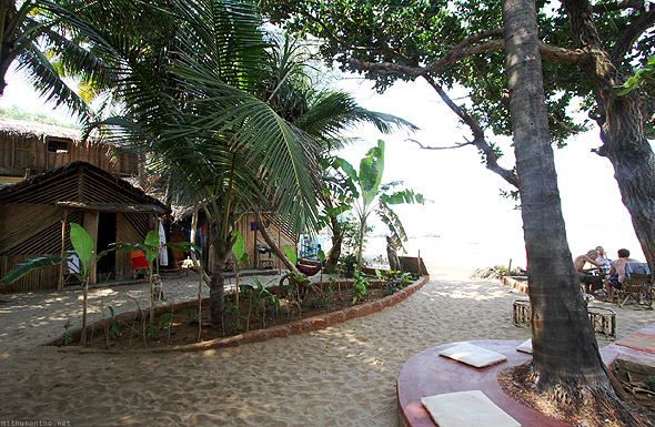 Kudle beach Jazzmin cafe rooms