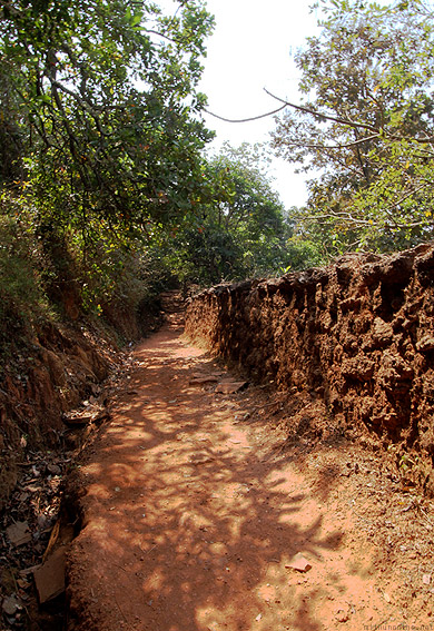 Path down to Kudle beach