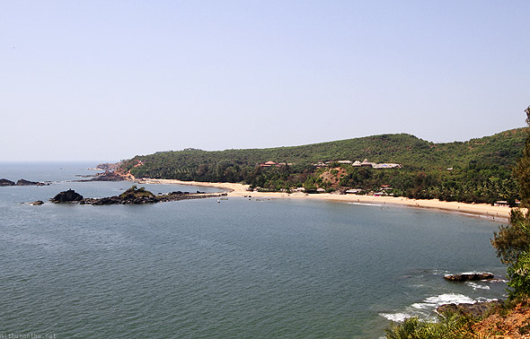 Om Beach Gokarna high up