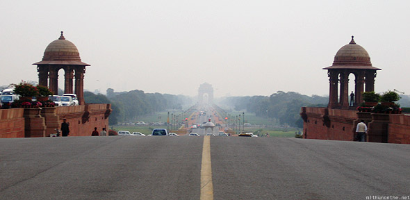 Rashtrapathi Bhavan India Gate distance