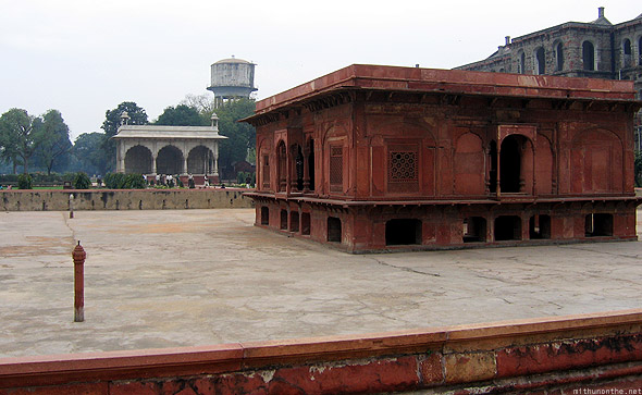 Red fort Diwan-i-am Delhi