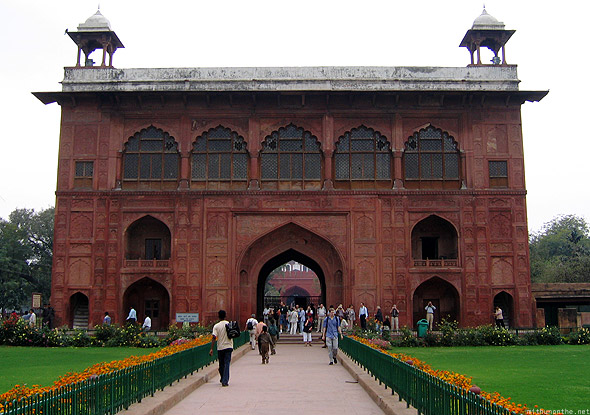 Red fort Indian war museum building