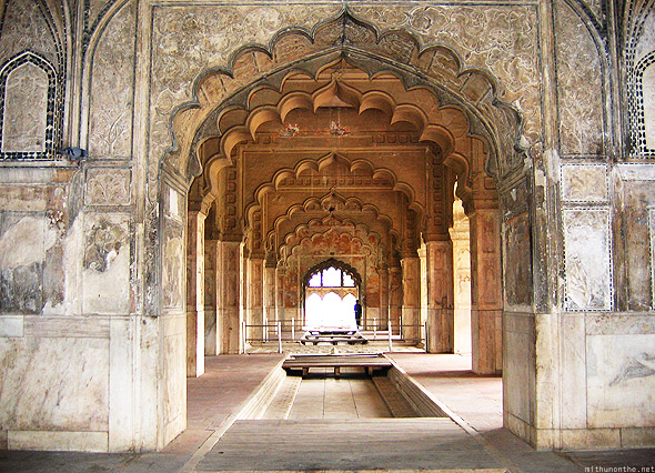 Red fort Khas Mahal Delhi