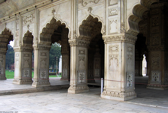 Red fort Khas Mahal structure