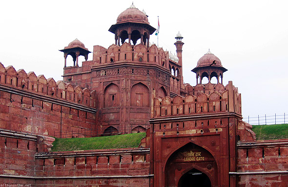 Red fort Lahore gate