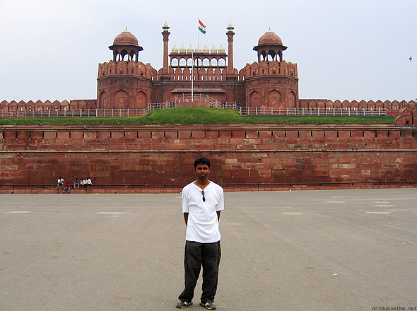 Red fort New Delhi Mithun