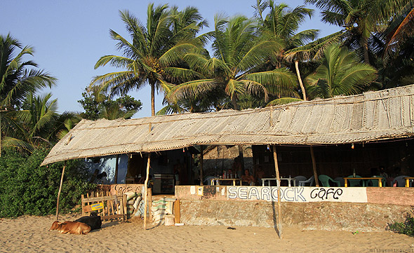 Sea Rock cafe Kudle beach Gokarna
