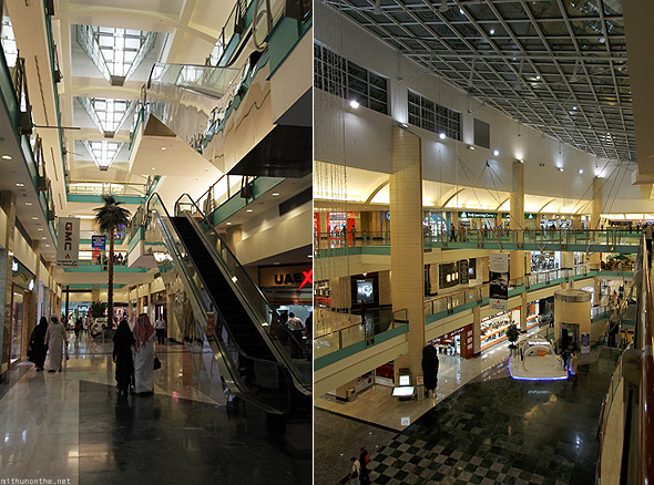 Abu Dhabi mall inside