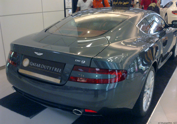 Aston Martin DB9 Doha Duty free back