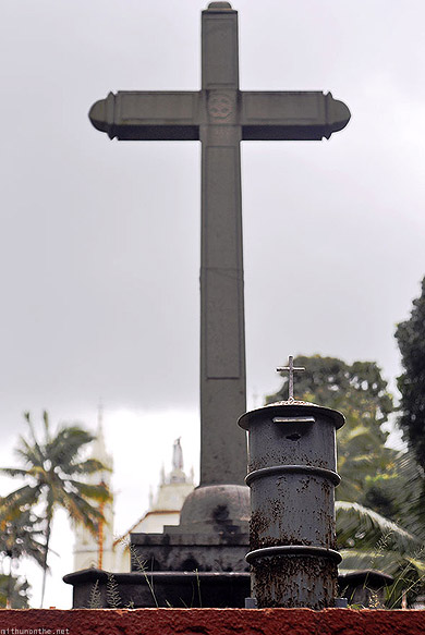 Kottayam church cross post box