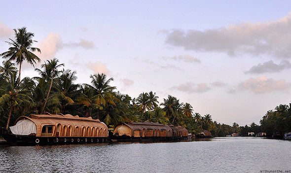 Kumarakom lake houseboats backwaters