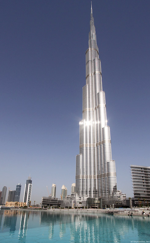 Burj Khalifa Dubai steel morning
