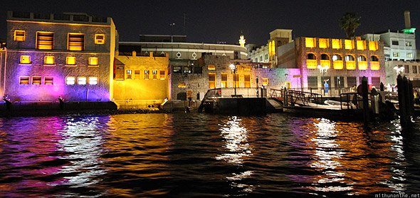 Dubai creek abra Bur Dubai dock