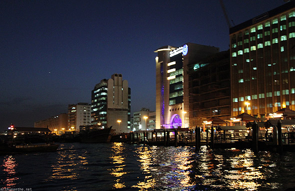 Dubai creek abra dock