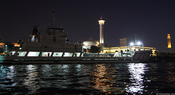 Dubai creek yacht mosque