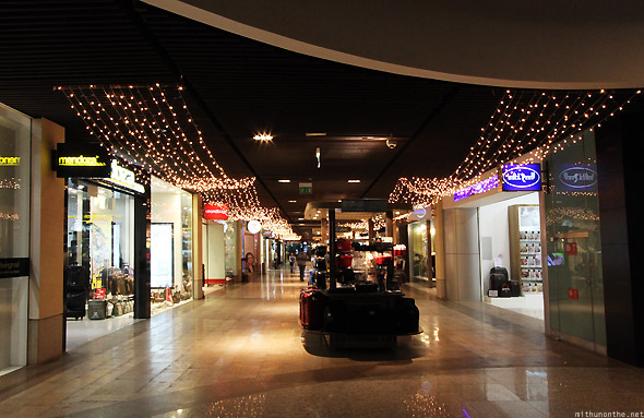 Dubai Mall basement stores
